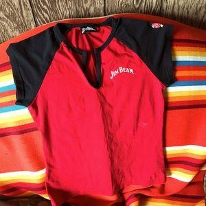 Jim Beam bartender shirt officially licensed.Med.